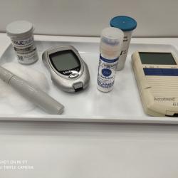 Análisis rápido de Colesterol y Azúcar