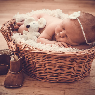 Canastillas personalizadas para bebés