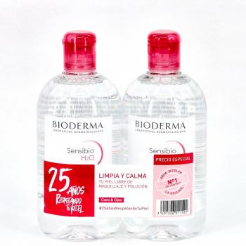 Bioderma Sensibio H2O Duplo 500+500 Ml