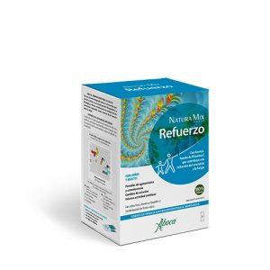 Aboca  natura mix advanced refuerzo -  sobres de granulado bucodispersables