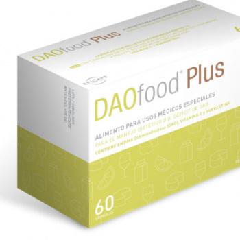 Daofood plus 60 cápsulas con pellets gastrorresistentes