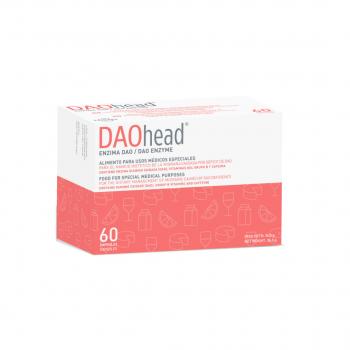 Daohead con cafeína 60 cápsulas con pellets gastrorresistentes (antes migrasin)