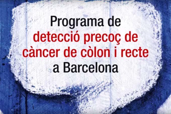 Informació del Programa de Detecció Precoç de Càncer de Còlon i Rectal.