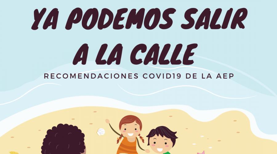 Recomendaciones para la salida inicial de los niños durante la pandemia por COVID-19
