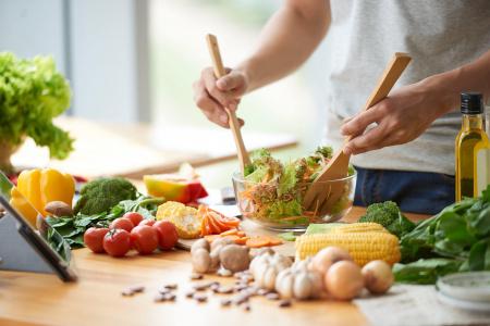 5 claus per canviar l'estil de vida a través de l'alimentació
