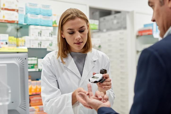 Parametros de salud en la farmacia