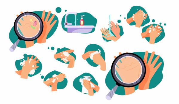 informació coronavirus rentar-se les mans