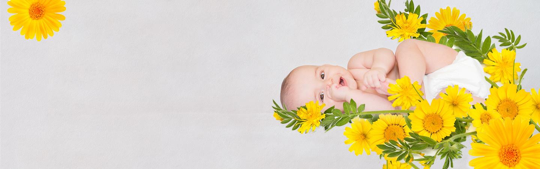 Cosmética natural para tu bebé