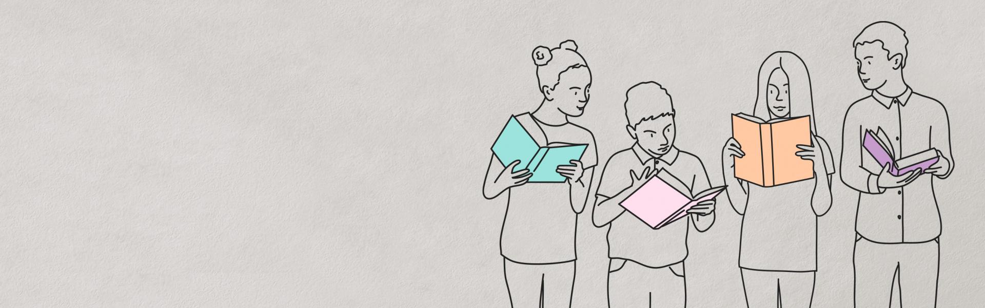 <p>¿Sabías que leer<br /> reduce el estrés<br /> hasta un 68%?</p>